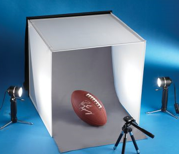 how to use a photo light box